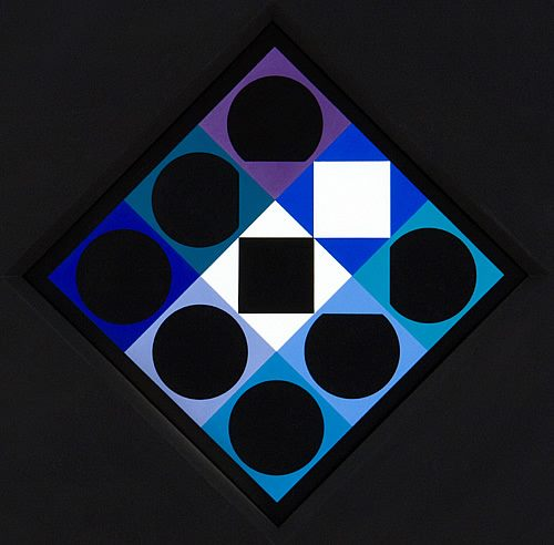 Onyx 1 - Victor Vasarely